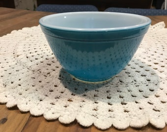 Pyrex 401 Blue Nesting Bowl