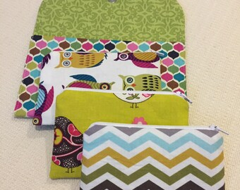 READY TO SHIP Kids Give Save Spend Budget Clutch
