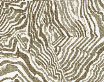 Round Tablecloth Agate Sand Geometric Taupe