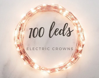 Wedding Lights, Copper Wire, Fairy Lights Lighting, Rustic Wedding, Led String Lights, Fall Wedding, Bar Decor, Country Wedding Barn Wedding