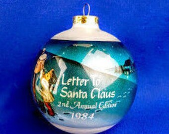 Hummel Christmas Ornament - Letter To Santa Claus