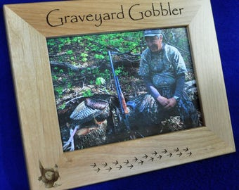 Fathers Day Gift ~ Gift For Dad ~ Turkey Hunting ~ Gift For Hunter ~Turkey Hunter Gift ~ Hunting Frame ~ Hunting Gifts ~ Hunting ~ Turkey ~