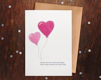 Those We Love – Greeting Card