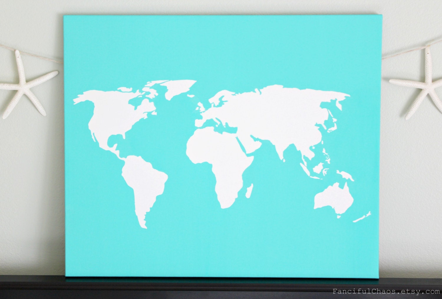 World diy customize map 20x24 canvas acrylic painting wall zoom gumiabroncs Gallery