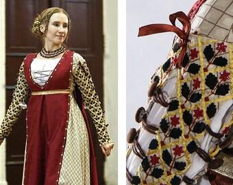 15th century Renaissance Dress Gown