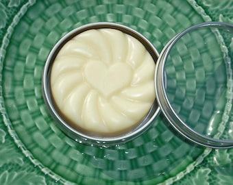 FREE SHIPPING-  Shea Butter Bar / Cocoa  Butter Body Bar / Tangerine Grapefruit / Solid Lotion Bar