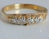 Victorian 18 carat gold r...