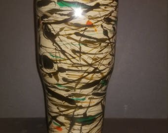 Personalized 30oz camo Handcrafted