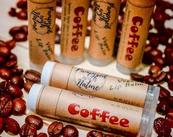 Coffee Natural Vegan Lip Balm