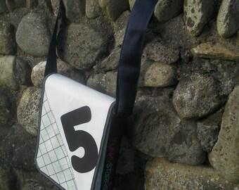 Funky Starfish Sailcloth Messenger Bag
