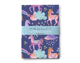 Unicorn Bullet Journal - Traveler - Notebook - Exercise Book