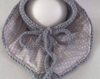 RTS Baby crochet bonnet bunny long ears in grey, hat for newborn, photo prop