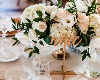 Laser Cut Wood Table Number, Wedding Decor, Party Decor, Perfect Weddings, Gold Wedding Decor,Wood Wedding Signs,Custom Decor,Rustic Wedding