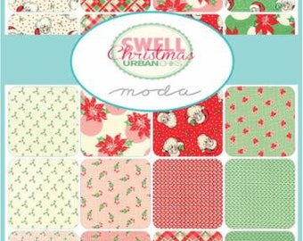 IN STOCK! Swell Christmas by Urban Chiks FULL Yard Bundle for Moda
