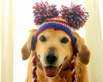 4th of July Dog Hat, July 4th Hat for Dogs, Fourth of July Dog Hat, American Dog Hat, July 4th Dog Outfit Accessory, 4th of July Large Dogs