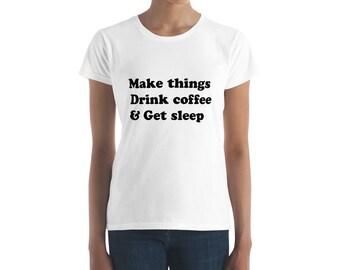 Make Things Women's short sleeve tee