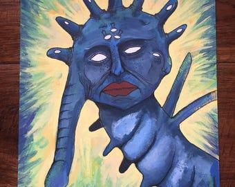 Parasite original painting