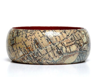 Bracelets Munich 1928 City map vintage Gift wrapping gift for you Oktoberfest