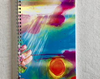 TURQUOISE HEAVEN Art Notebook