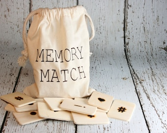 Memory Match Travel Game