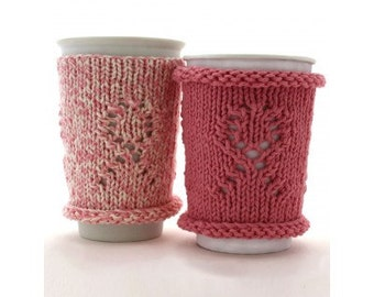 Knitting pattern Cup Cozy / PDF