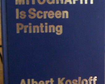 MItography est impression d'écran par Albert Kosloff