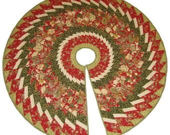 Spiral Tree Skirt pattern