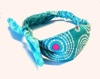 Reversible Headband, Two Styles In One, Childrens Headband, Womans Headband, Baby Headband, Knot Headband, Handmade Headband