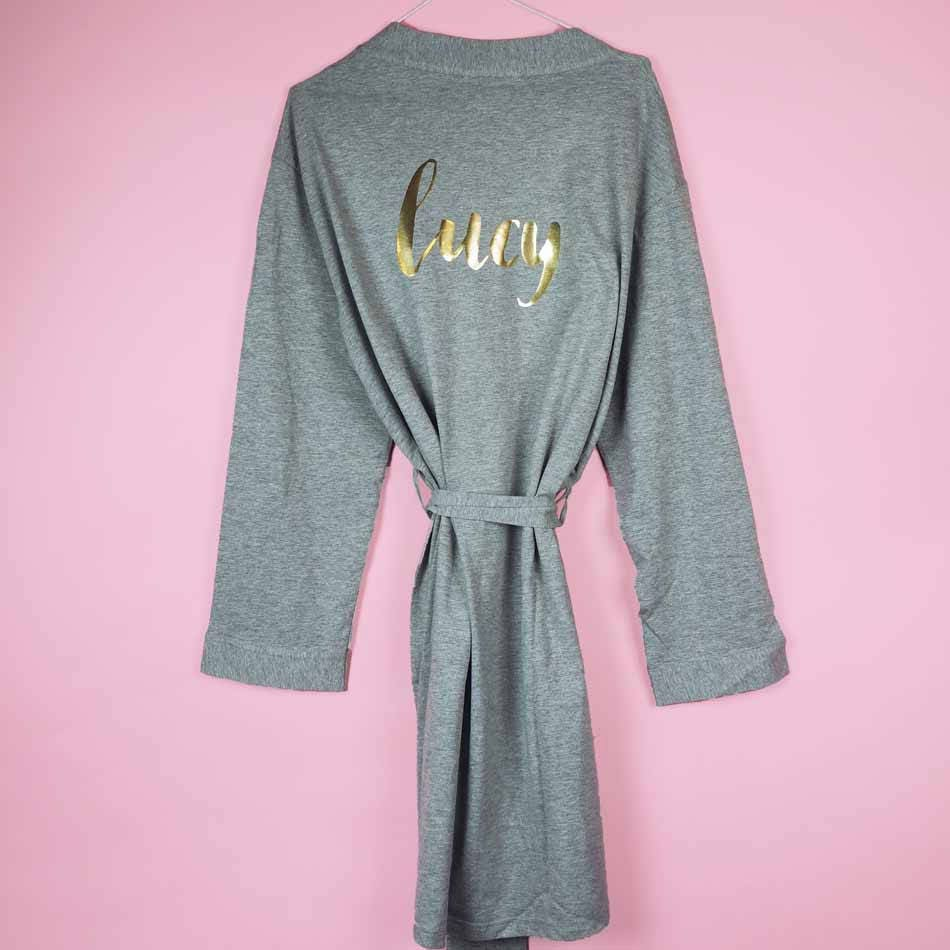 Personalised Dressing Gown 18th 21st 30th Birthday Party