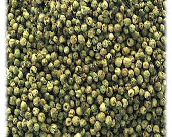 Green Peppercorn  4 ounces Free Shipping