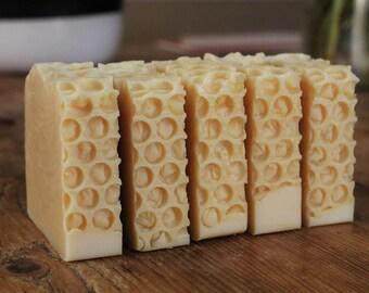 Clover Honey Soap // Cold Process Soap // Handmade Soap // Honey Soap