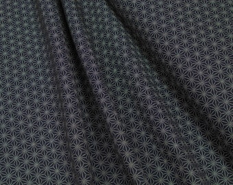 Cosmo • AP1310-11 Indigo Stars • Cotton Fabric 0.54yd (0,5m) 002860