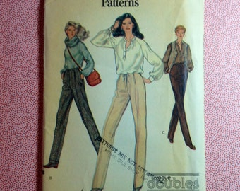 Vintage Vogue Pattern 7275 Very Easy Very Patterns Size B Uncut