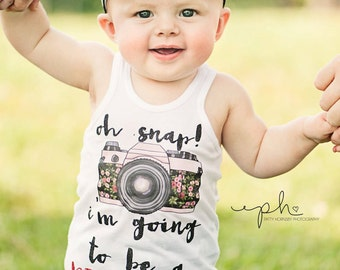 Big Sister Shirt Oh Snap I'm the Big Sister Shirt Sibling Shirts Sister Shirt Pregnancy Announcement Shirt Baby Announcement Shirt