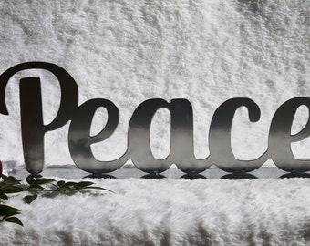 Peace Christmas Decoration, Fireplace Decor, Christmas Decorations, Peace on Earth, Christmas Phrases (23)
