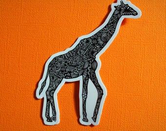 Giraffe Body Sticker