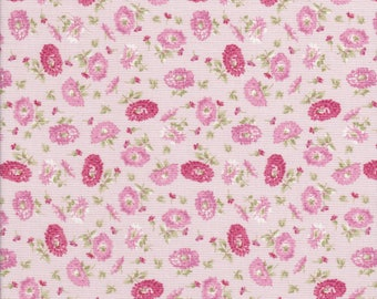 Pink Floral Fabric - Pink Fabric - Amelia - Penny Rose Fabric