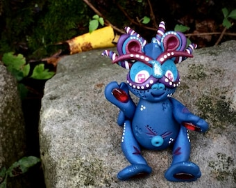 Polymer Clay Dragon 'JUBILEE' - Limited Edition Handmade Collectible
