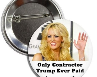 """Stormy 2020 3"""" Pinback Button"""