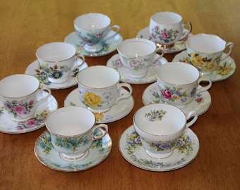 Tea Cups Sets Etsy