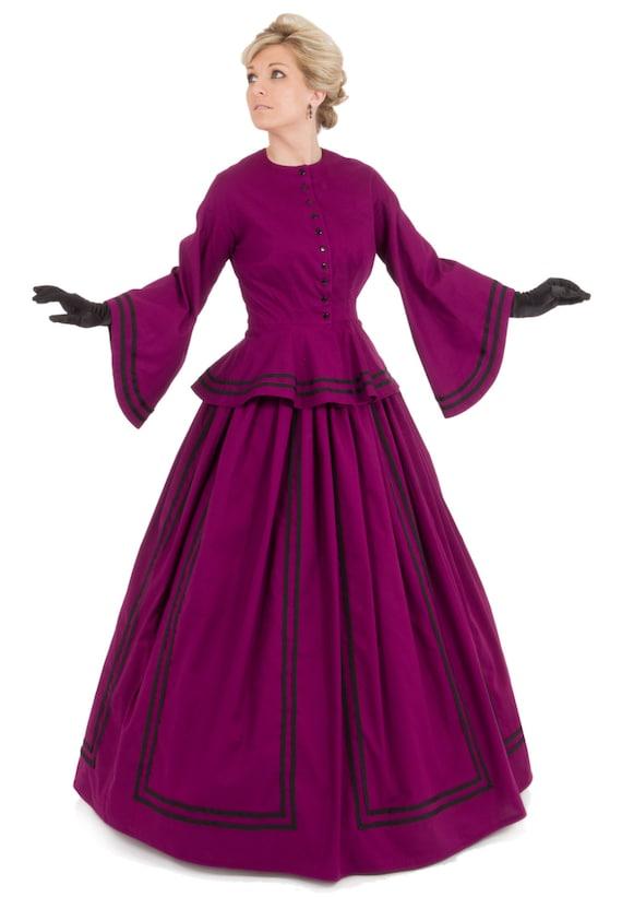 Mallory viktorianischen Bürgerkrieg Kleid
