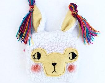 Llama alpaca coinpurse