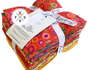 Kaffe Fassett Collective Citrus Fat Quarter Bundle 20 Precut Cotton Fabric Quilting FQs Free Spirit FB1FQGP.CITRU
