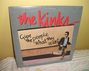 The Kinks Give the People What they Want Vinyl Record Album NEAR MINT condition