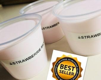 Strawberry Milk Slime