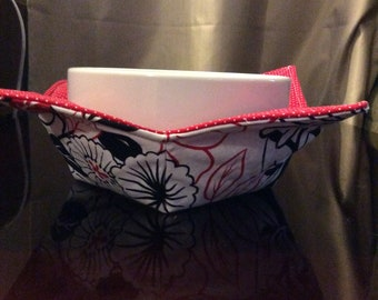 Reversable Bowl cozy -set of 2