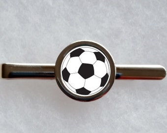 Football / Soccer Tie Clip - can be fully personalised
