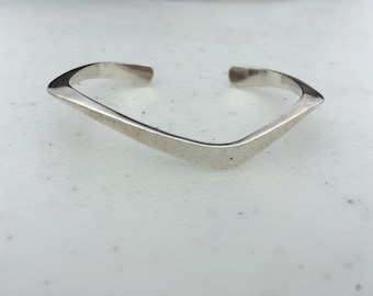 Sterling Silver Funky Cuff Bracelet