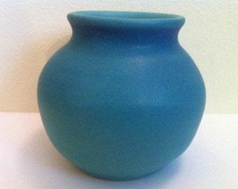 Van Briggle Pottery Vase, Exquisite, Vintage Art Pottery, Round Smooth Vase, ORIGINAL Hand Made & Hand Finished, One of a Kind