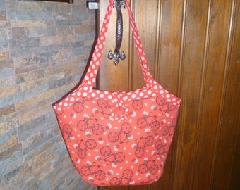Charming Bicycle Bag in Bright Red